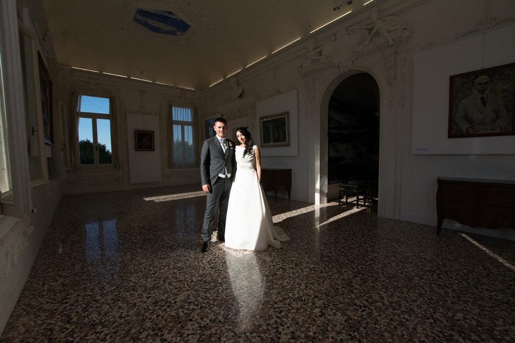 Le sala di Villa Morosini