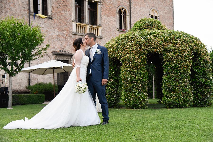 fotografo matrimonio castello bevilacqua
