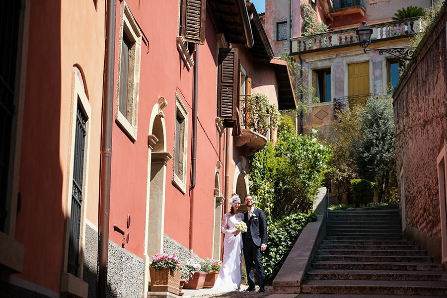 passeggiata sposi a verona
