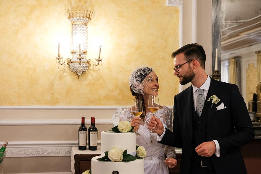 ricevimento matrimonio due torri verona