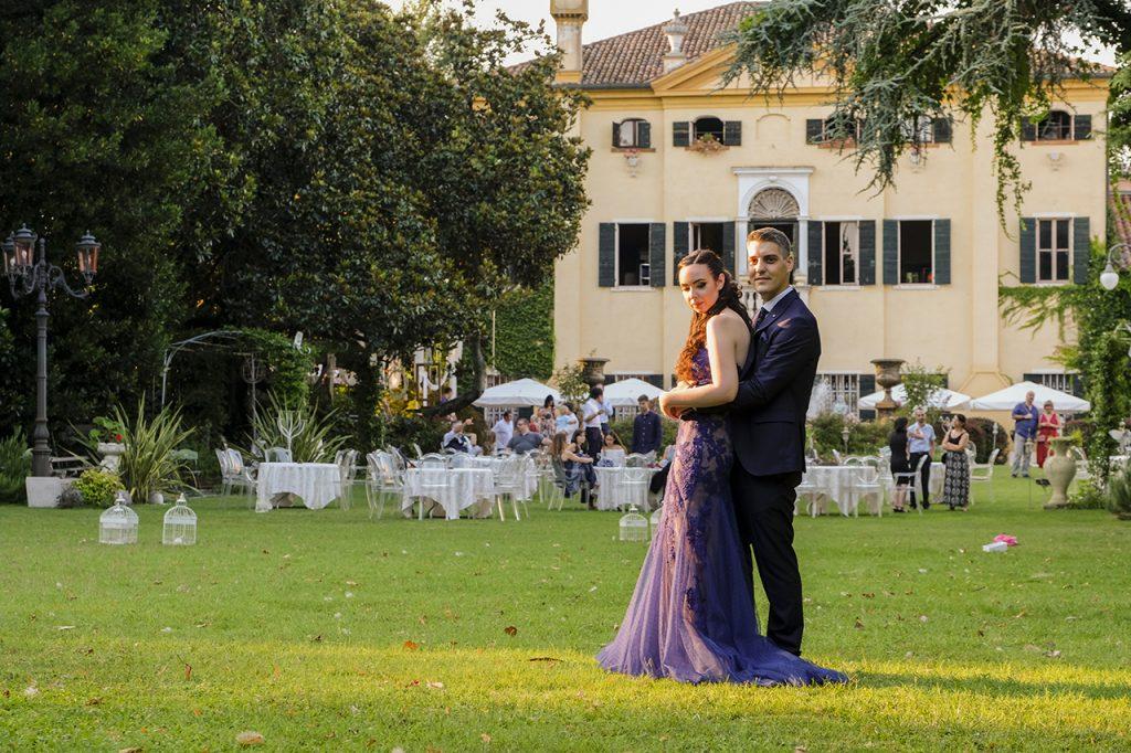 matrimonio in villa selmi rovigo