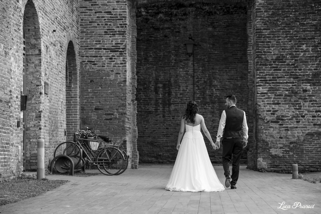 street wedding photography montagnana padova