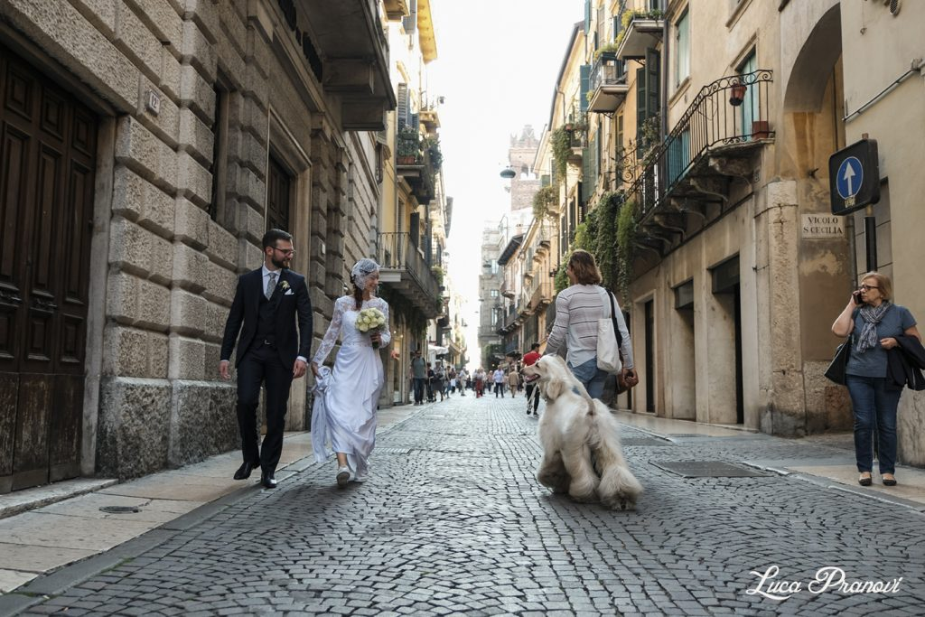street wedding photography